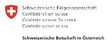 Logo Schweizerische Botschaft Farbe